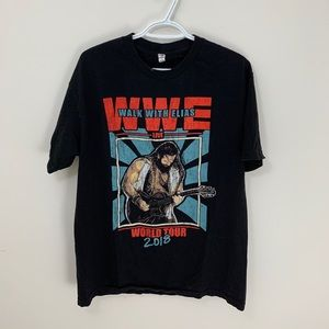 "▪️WWE ""Walk with Elias"" World Tour Tee (Fits M)"